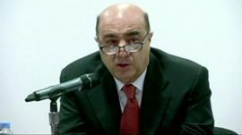 Mexico's Attorney General Jesus Murillo