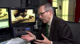 Forensic pathologist Professor Derrick Pounder
