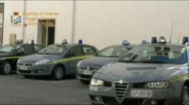 Italian police vehicles