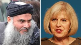 Abu Qatada and Theresa May