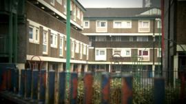 The Falinge estate in Rochdale