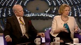 Godfrey Bloom and Vicky Ford