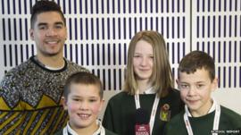 Louis Smith tells School Reporters how he got into gymnastics as a youngster.