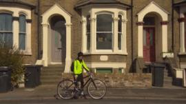 Sian Morten has started cycling to work to save on commuting costs