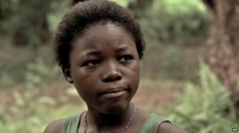 Rachel Mwanza in a scene from