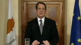 President of Cyprus, Nicos Anastasiades