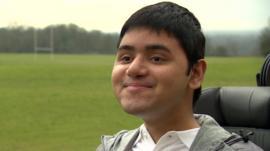 Disabled sport leader Adil Ghani