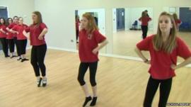 Scottish dancing in Northern Ireland