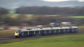 Hitachi Class 395 Javelin train