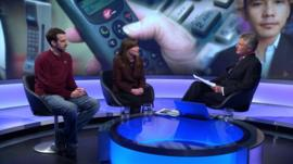 Ben Medlock and Amy O'Donnell talk to Tim Willcox