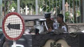 Police in Sri Lanka