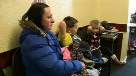 Children in waiting room