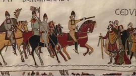 Alderney's Bayeux Tapestry panel