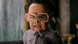 Team America puppet of former North Korea leader
