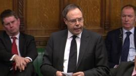 Deputy leader of the Democratic Unionist Party, Nigel Dodds
