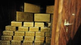Gold bullion