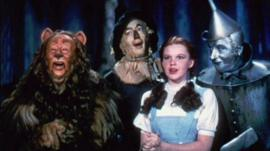 4 characters from the Wizard of Oz film