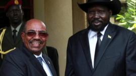President Omar al-Bashir and President Salva Kiir