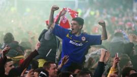 Cardiff City fans