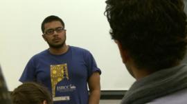 Muslim students in Boston