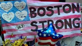 Tributes in Boston