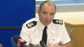 North Wales Police Chief Constable Mark Polin