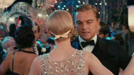 Carey Mulligan and Leonardo DiCaprio