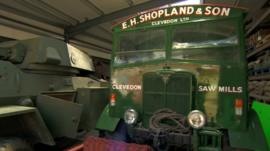 Vehicles in the Shopland Collection