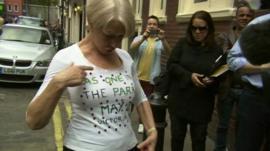 Dame Helen Mirren on Monday