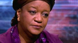 UN special representative on sexual violence in conflict, Zainab Bangura