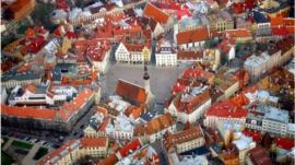 Tallin city view