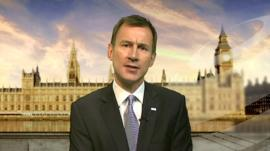 Health Minister, Jeremy Hunt