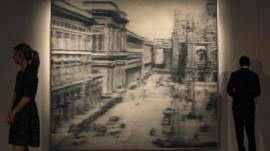 Gerhard Richter's 'Domplatz Mainland'
