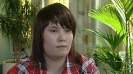 Kelly, 17, a young carer who looks after her mother and younger sister