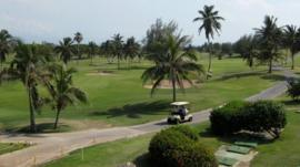 Varadero golf club currently has the only 18-hole course in Cuba