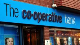 A Co-operative Bank branch in Derby