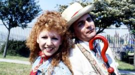 Bonnie Langford and Sylvester McCoy