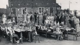 Children's Coronation tea party in Goudhurst