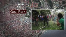 Gezi Park graphic