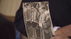 Choristers at the coronation