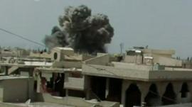 Bombing in Qusair