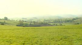 A view of the Cumbrian countryside