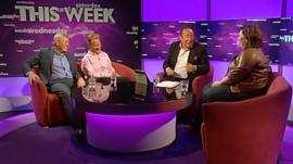 Alan Johnson, Michael Portillo, Andrew Neil and Katy Brand