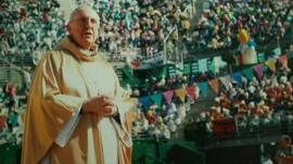 A photo of Cardinal Jorge Mario Bergoglio