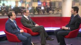 Alan Clarke, Carl Emmerson and Hugh Pym
