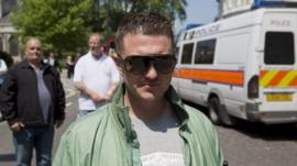 EDL Leader Tommy Robinson