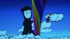 A scene from one of the animated short films