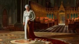 Painting of the Queen by Ralph Heimans