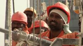 Workers in Saudi Arabia