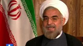 Iran's president-elect, Hassan Rouhan